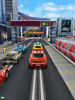 Jeu mobile Tempête de Highway: hurlement du mécanisme 3D - captures d'écran. Gameplay Highway hurricane - The roar of the engine 3D.