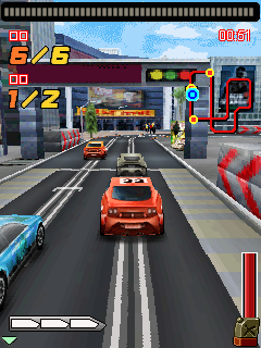 Mobile game Highway hurricane - The roar of the engine 3D - screenshots. Gameplay Highway hurricane - The roar of the engine 3D.