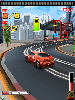 Download free game for mobile phone: Highway hurricane - The roar of the engine 3D - download mobile games for free.