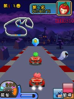 Mobile game Crazy fruit kart - screenshots. Gameplay Crazy fruit kart.
