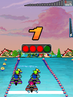 Mobile game Feng Chi: Speed boat - screenshots. Gameplay Feng Chi: Speed boat.