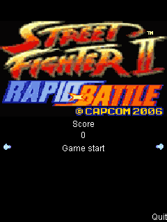 Download free mobile game: Street fighter II: Rapid battle - download free games for mobile phone.
