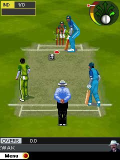 Jeu mobile Monde du cricket 20  - captures d'écran. Gameplay ICC world 20.