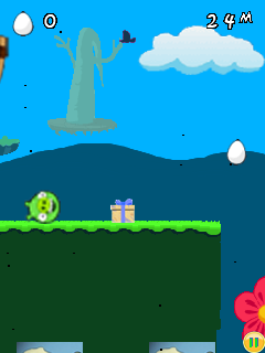 Download free game for mobile phone: Bad piggies: Egg dash - download mobile games for free.