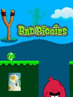 Bad piggies: Egg dash