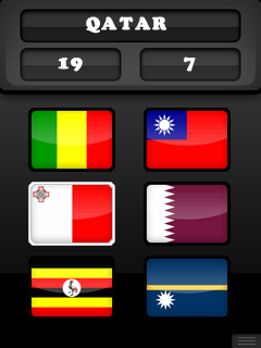 Mobile game World flags - screenshots. Gameplay World flags.