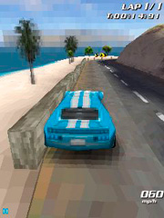 Mobile game 3D coast racer - screenshots. Gameplay 3D coast racer.