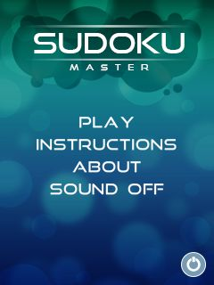 Download free game for mobile phone: Master of sudoku - download mobile games for free.