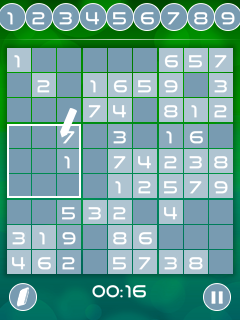 Mobile game Master of sudoku - screenshots. Gameplay Master of sudoku.