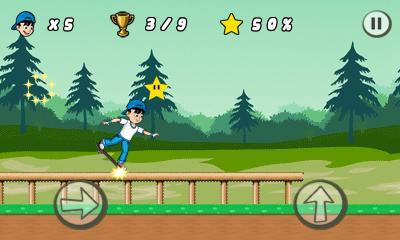 Skater kid java game for mobile. Skater kid free download.