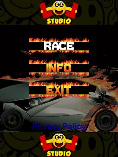 Download free mobile game: Car race 2 - download free games for mobile phone.