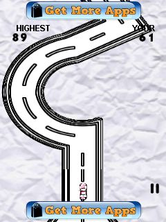 Mobile game Paper car race - screenshots. Gameplay Paper car race.