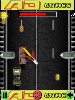Download free game for mobile phone: Zombie crash race - download mobile games for free.