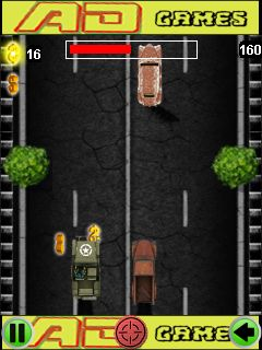 Mobile game Zombie crash race - screenshots. Gameplay Zombie crash race.