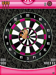 Mobile game Lesson of passion: Sехy darts - screenshots. Gameplay Lesson of passion: Sехy darts.