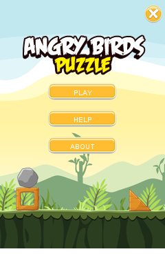 Download free mobile game: Angry Birds puzzle - download free games for mobile phone.