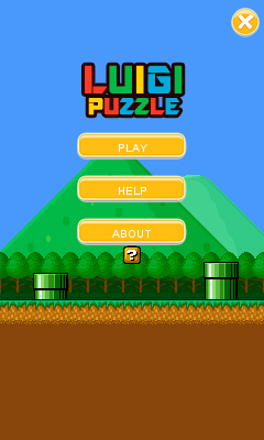 Download free mobile game: Luigi puzzle - download free games for mobile phone.
