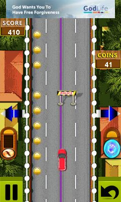 Mobile game Moto car racing - screenshots. Gameplay Moto car racing.