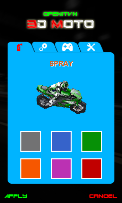 Download free game for mobile phone: 3D Moto - download mobile games for free.