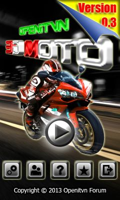 Download free mobile game: 3D Moto - download free games for mobile phone.