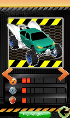Download free game for mobile phone: Monster crush: Mad race - download mobile games for free.