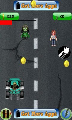 Mobile game Monster crush: Mad race - screenshots. Gameplay Monster crush: Mad race.