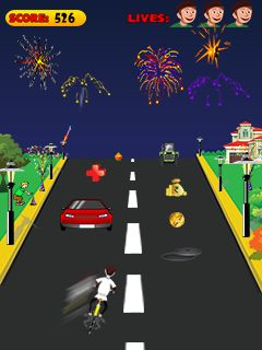 Download free mobile game: Cracker chase - download free games for mobile phone.