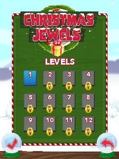 Download free mobile game: Christmas jewels - download free games for mobile phone.