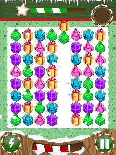 Download free game for mobile phone: Christmas jewels - download mobile games for free.