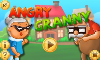 Download free mobile game: Angry granny - download free games for mobile phone.