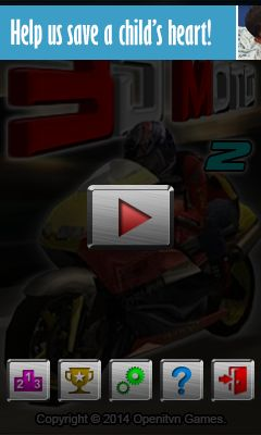 Download free mobile game: 3D Moto 2 - download free games for mobile phone.
