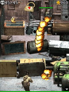 Mobile game Edge of fire 2 - screenshots. Gameplay Edge of fire 2.