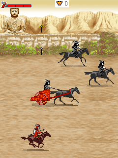 Jeu mobile Legende sur le samouraї rouge  - captures d'écran. Gameplay Legend of the red samurai.