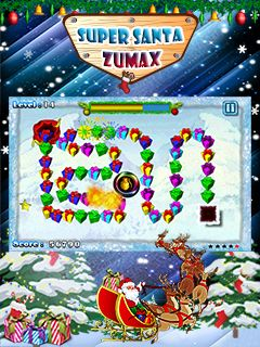Download free game for mobile phone: Super Santa Zumax - download mobile games for free.
