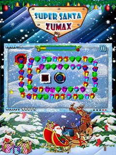 Mobile game Super Santa Zumax - screenshots. Gameplay Super Santa Zumax.