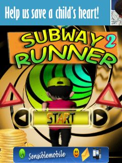 Download free mobile game: Subway runner 2 - download free games for mobile phone.