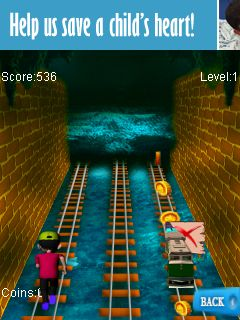 Mobile game Subway runner 2 - screenshots. Gameplay Subway runner 2.