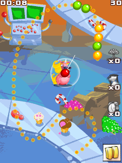 Mobile game Candy pop saga - screenshots. Gameplay Candy pop saga.