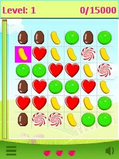 Download free game for mobile phone: Candy crusher - download mobile games for free.