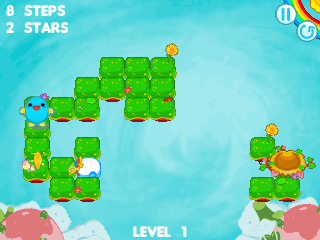 Jeu mobile Nuages flottants  - captures d'écran. Gameplay Flow the cloud.