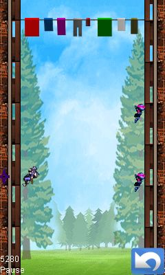 Download free game for mobile phone: Ninja heights - download mobile games for free.