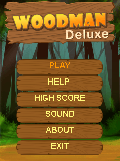 Download free mobile game: Woodman deluxe - download free games for mobile phone.
