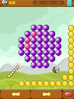 Download free game for mobile phone: Bang balloons - download mobile games for free.