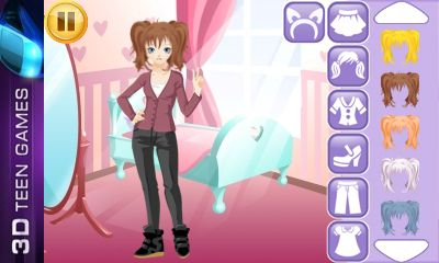 Download free game for mobile phone: Kawaii dress up - download mobile games for free.