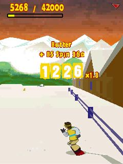 Download free game for mobile phone: Radikal snowboard - download mobile games for free.