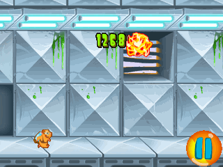 Mobile game Jetpack hamster - screenshots. Gameplay Jetpack hamster.