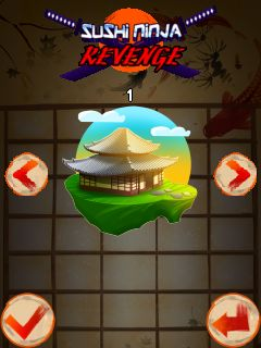 Download free game for mobile phone: Sushi ninja revenge - download mobile games for free.