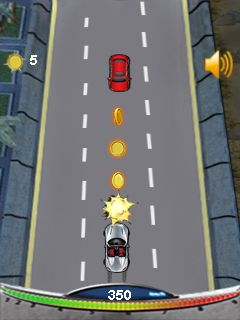 Mobil-Spiel Road Heroes Race - Screenshots. Spielszene Road heroes race.