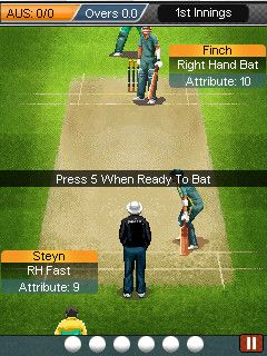 Download free game for mobile phone: Ultimate Cricket World Cup 2015 - download mobile games for free.