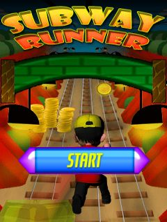 Download free mobile game: Subway runner 2014 - download free games for mobile phone.